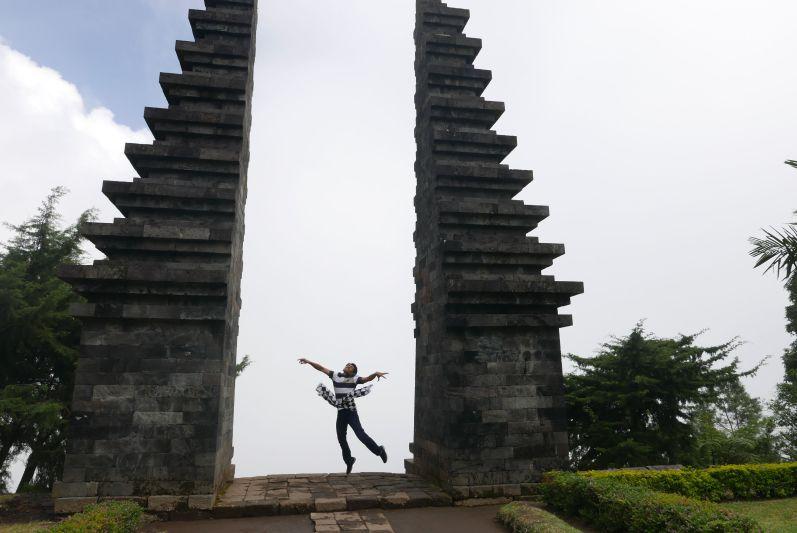 Einen der nettesten Menschen haben wir in Solo (Java/Indonesien) getroffen