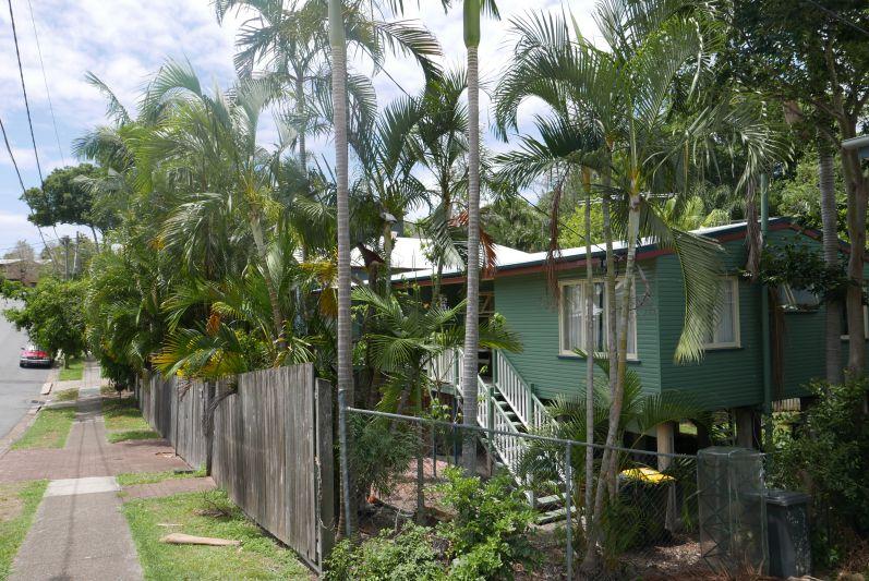 Häuser-Stil im Stadtteil Red Hill