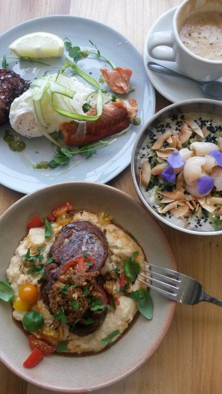 Auckland, Neuseeland: Frühstück im Bestie Café
