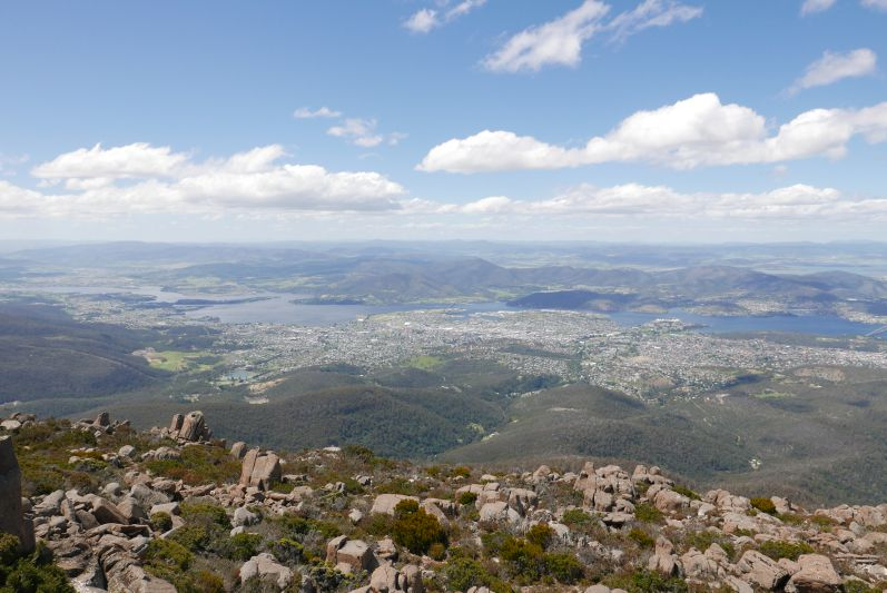 Aussicht vom Mount Wellington