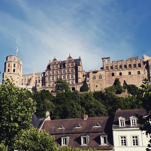 Hello beautiful heidelberg germany beautifulplaces beautiful castle stunningview bluesky soschnhellip