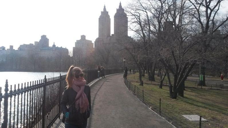 Weltreise - kaltes New York