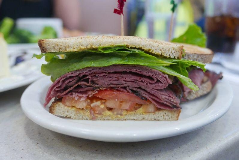 Pastrami Sandwich New York