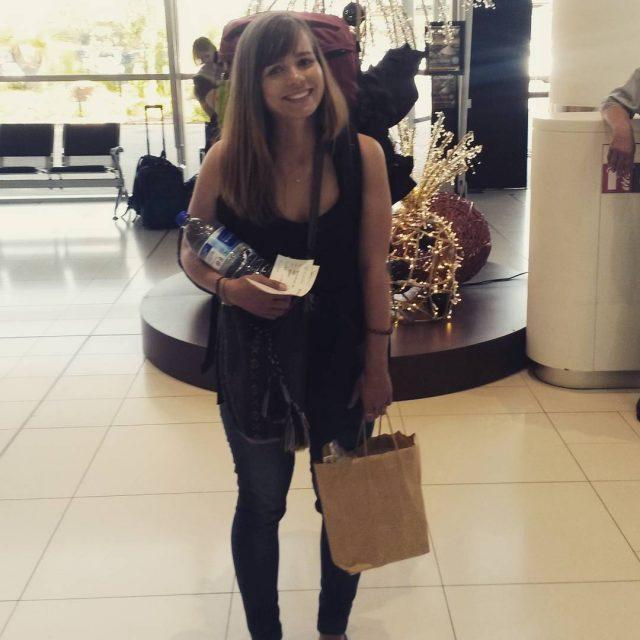 Me Happy with my backpack travelingmakesmehappy worldtraveler lovelovetravel fernweh reisenmachtglcklichhellip