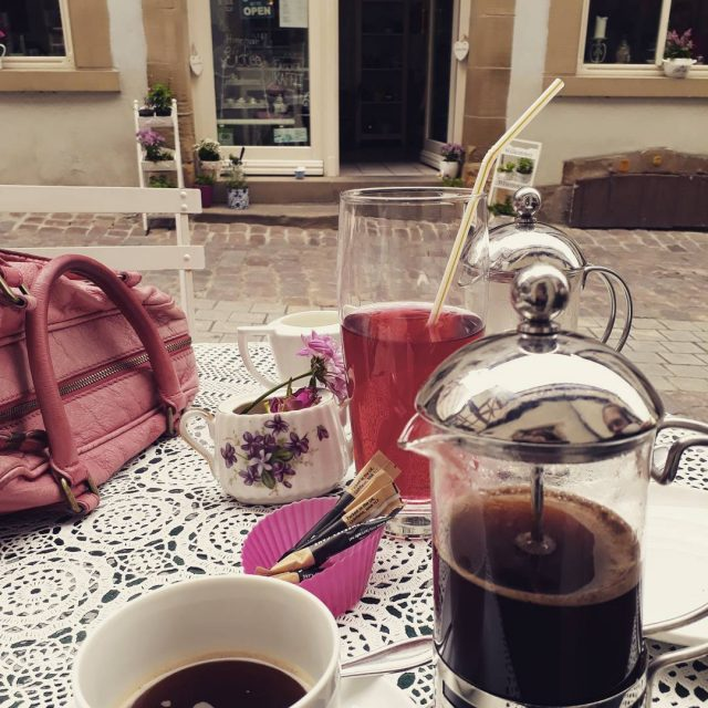 Happy weekend everyone coffeetime haveabreakhaveacoffee badwimpfen coffeelover cutecafe coffee badenwrttemberghellip