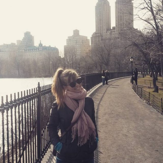 Me Super happy In centralpark newyorkcity worldtrip memories newyork travelpichellip
