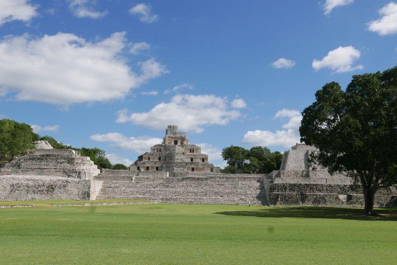 Edzna, Mexiko