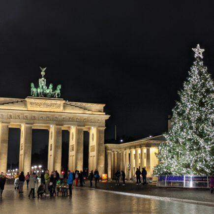 Brandenburger Tor Berlin Weihnachten